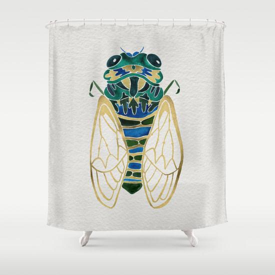 cicada curtain