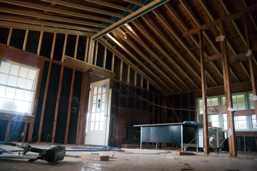 vaulted ceiling truss design
