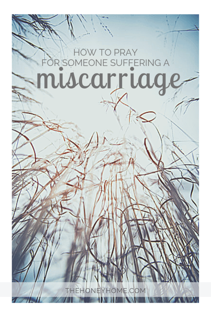prayers for miscarriage, broom sage